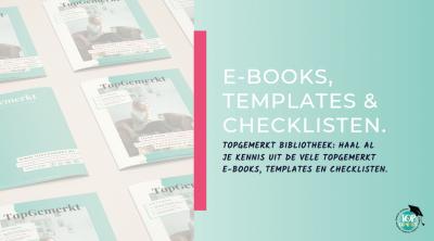 TopGemerkte Ebooks-templates-checklisten - omslag - TopGemerkt Academy